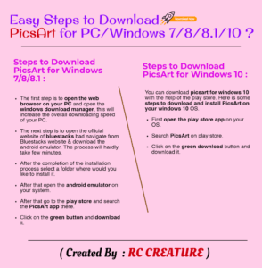 How to Install/Download PicsArt for PC/Windows 7/8/10 (2019)